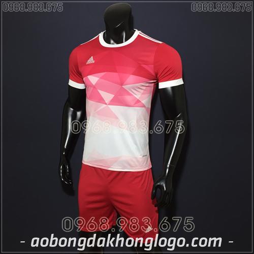 Áo Bóng Đá Không Logo Adidas KC Đỏ 2019