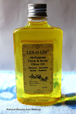 Len-O-Lin All purpose Face and Body Olive Oil