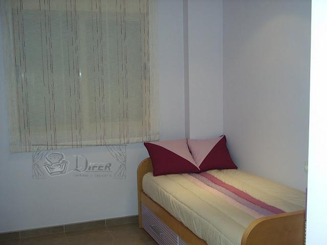 Cortinas y tapicer a difer dormitorio juvenil - Cortinas dormitorio juvenil ...