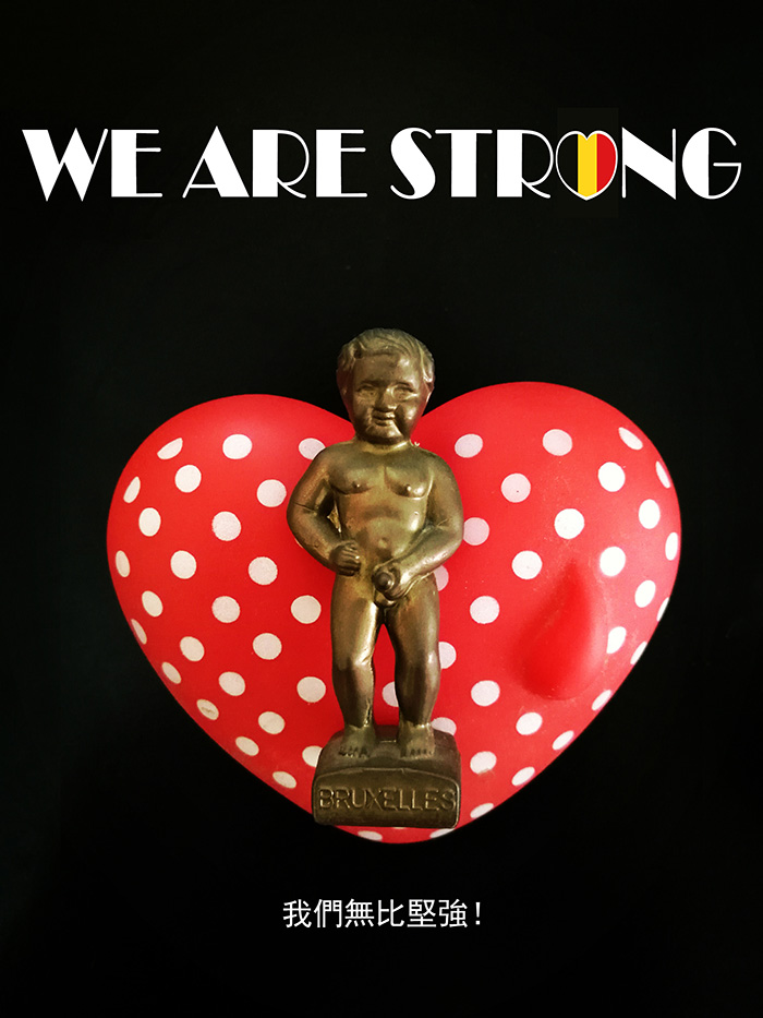 #PrayForBrussels Let's Show The World That We Are UNITED! - #40 We Are Strong!