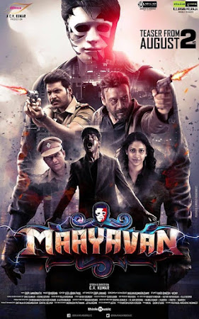 Poster Of Free Download Maayavan 2017 300MB Full Movie Hindi Dubbed 720P Bluray HD HEVC Small Size Pc Movie Only At worldfree4u.com