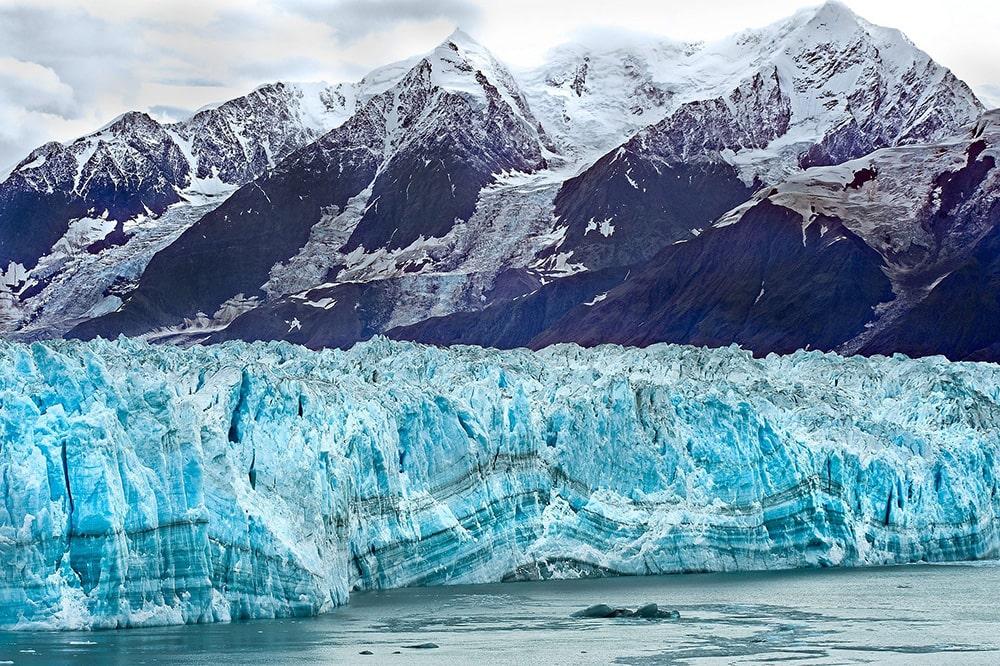 Достопримечательности Аляски: ледник Хаббард
