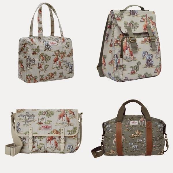 Cath Kidston Safari for Summer 2014, cath kidston safari, safari backpack, cath kidston bags, safari bags, safari prints