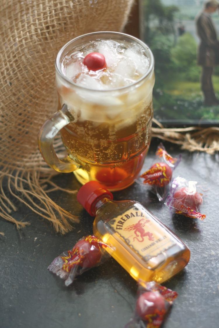Fire Swamp Fireball Cocktail | The Princess Bride #FoodnFlix