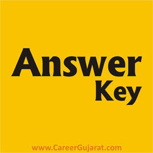 GUJCET Exam Answer Key 2018 (23/04/2018)