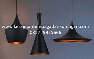 Lampu Gantung Tembaga Minimalis