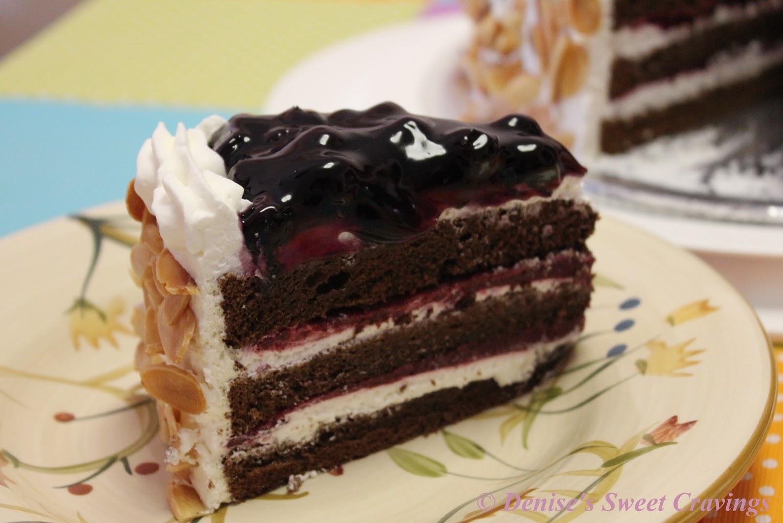 Banana Raspberry Chocolate Cake