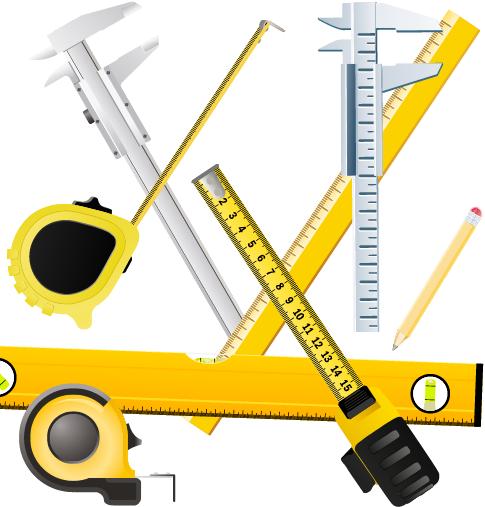Herramientas en formato vectorial
