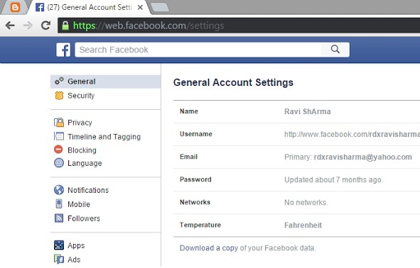 how to download deleted facebook messages