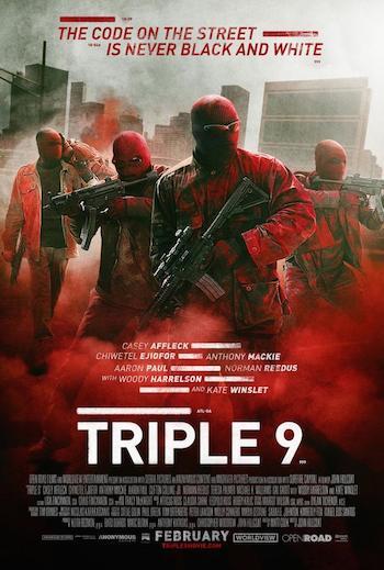Download Triple 9 2016 English 720p HDRip 850mb