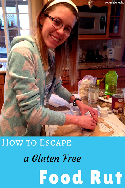 A Celiac's Creative Cooking Tips: How to Escape a Gluten Free Food Rut