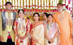 Ashok Kumar Family Wife Parents children's Marriage Photos