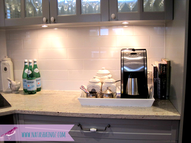 #Coffee Time ~ My New Beverage Station-French Gray Kitchen