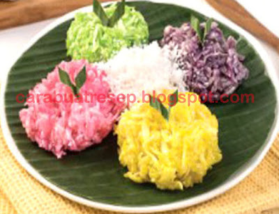 Foto Resep Sawut Singkong Pelangi Warna Warni Sederhana Spesial Asli Enak