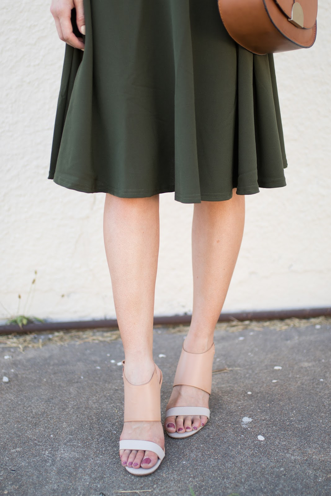 ModCloth sandals and skirt