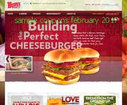 free Wendys coupons for february 2017