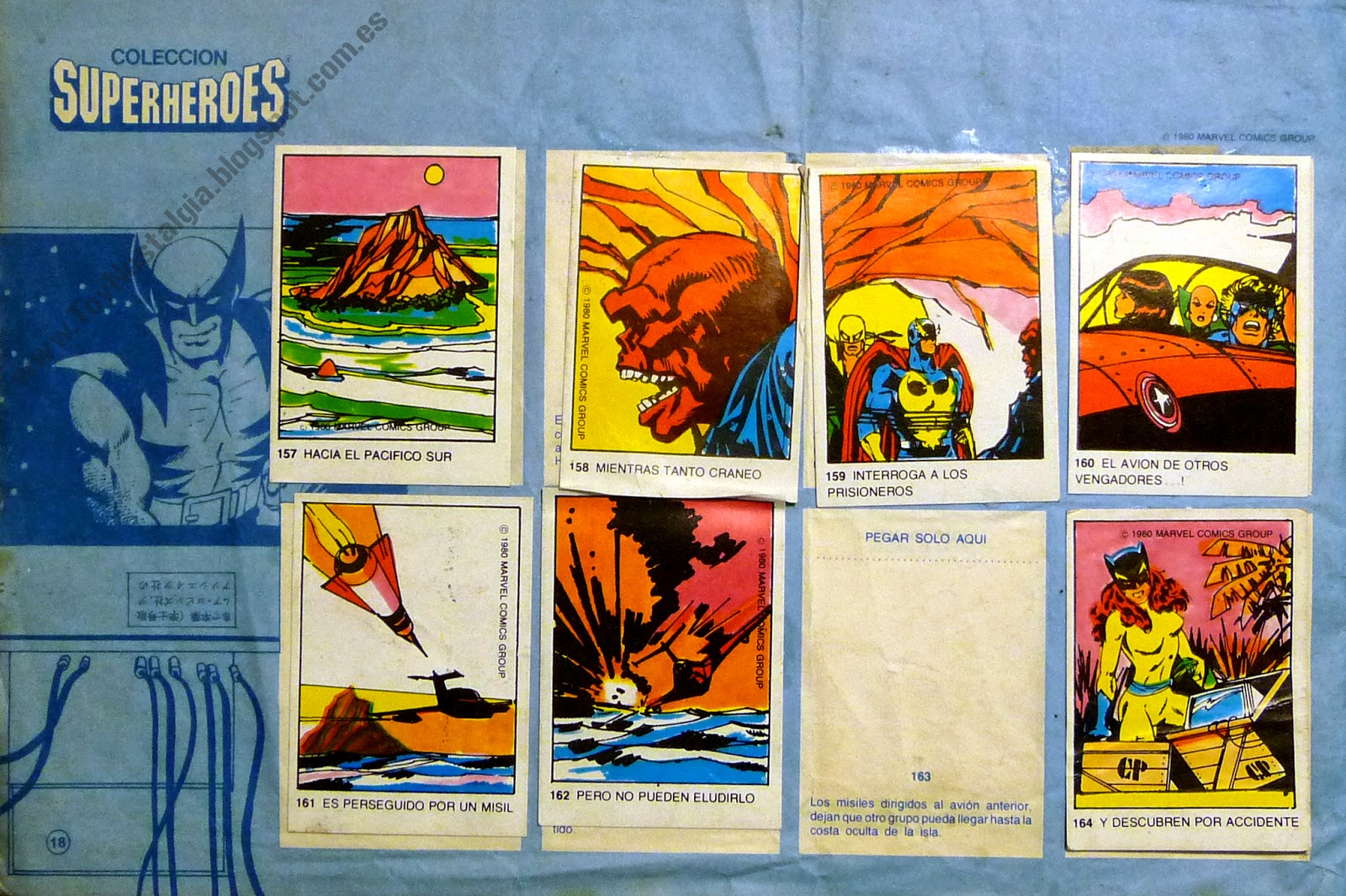Colección Superhéroes Marvel - 1981