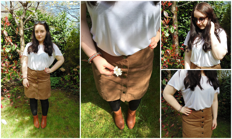 Outfit One - Suede Skirt