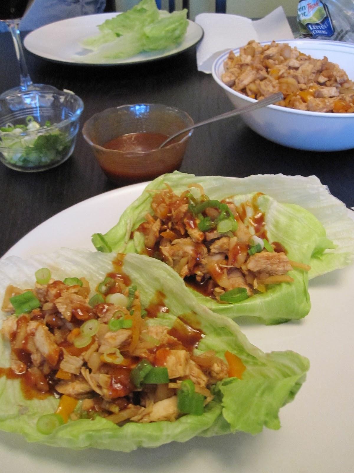 Apologise, but Asian lettus wraps what