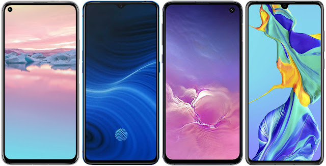 Honor 20 Pro vs Realme X2 Pro 256 GB vs Samsung Galaxy S10e vs Huawei P30