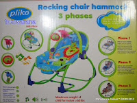Baby Bouncer Pliko PK308 Rocking Chair Hammock 27kg
