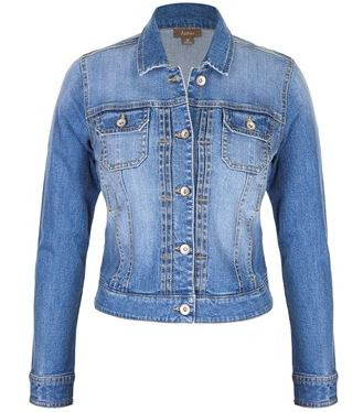 Katies denim jacket | Almost Posh