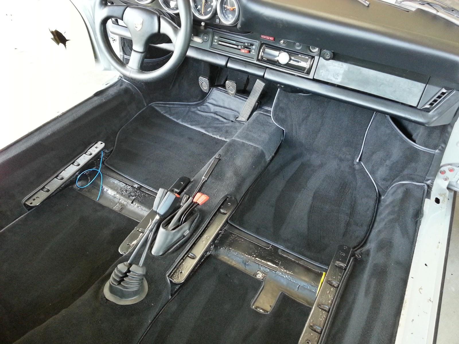 1975 Porsche 911 Targa Rebuild New Carpet