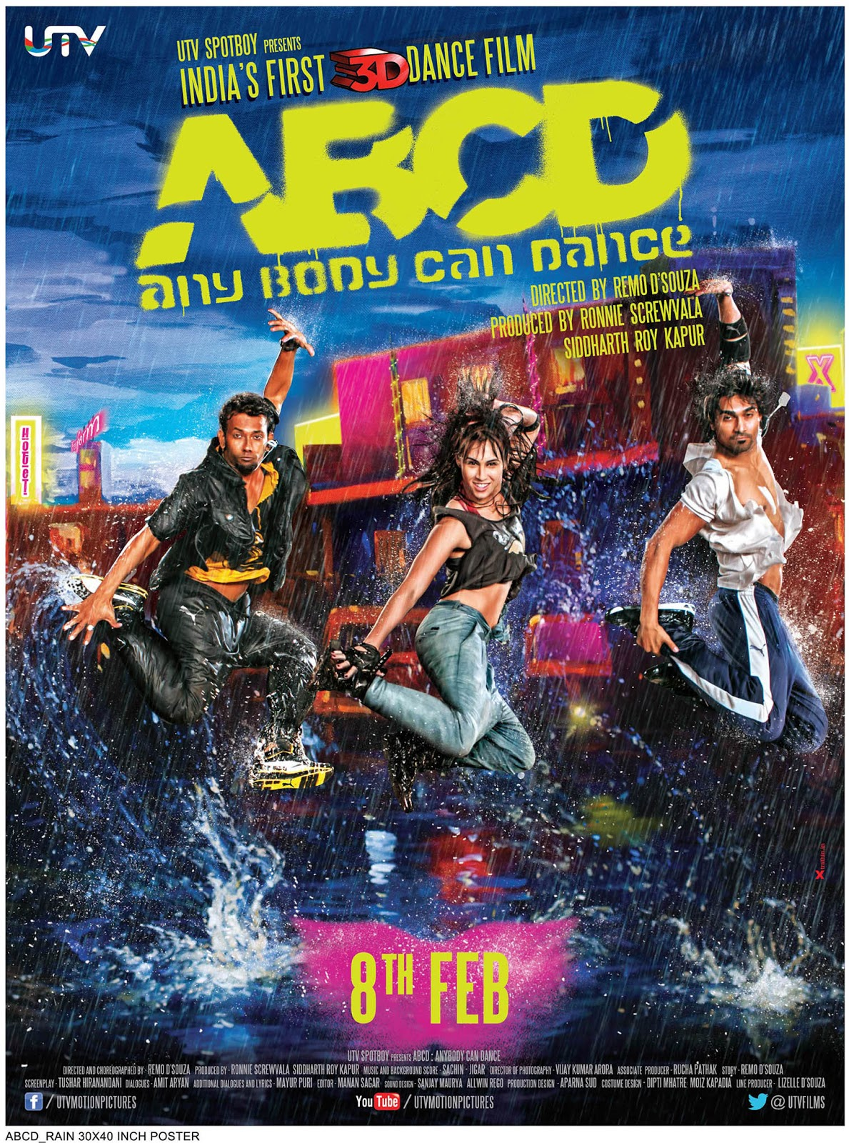 ABCD Any Body Can Dance 2013 Hindi 720p HDRip Full Movie Free Download