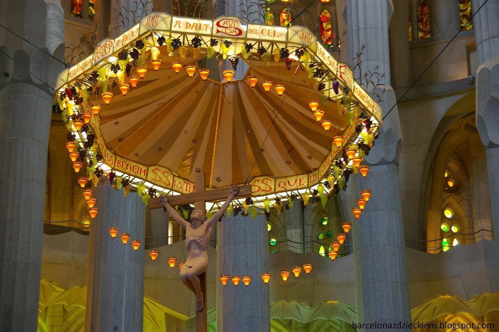 Sagrada Familia z dzieckiem