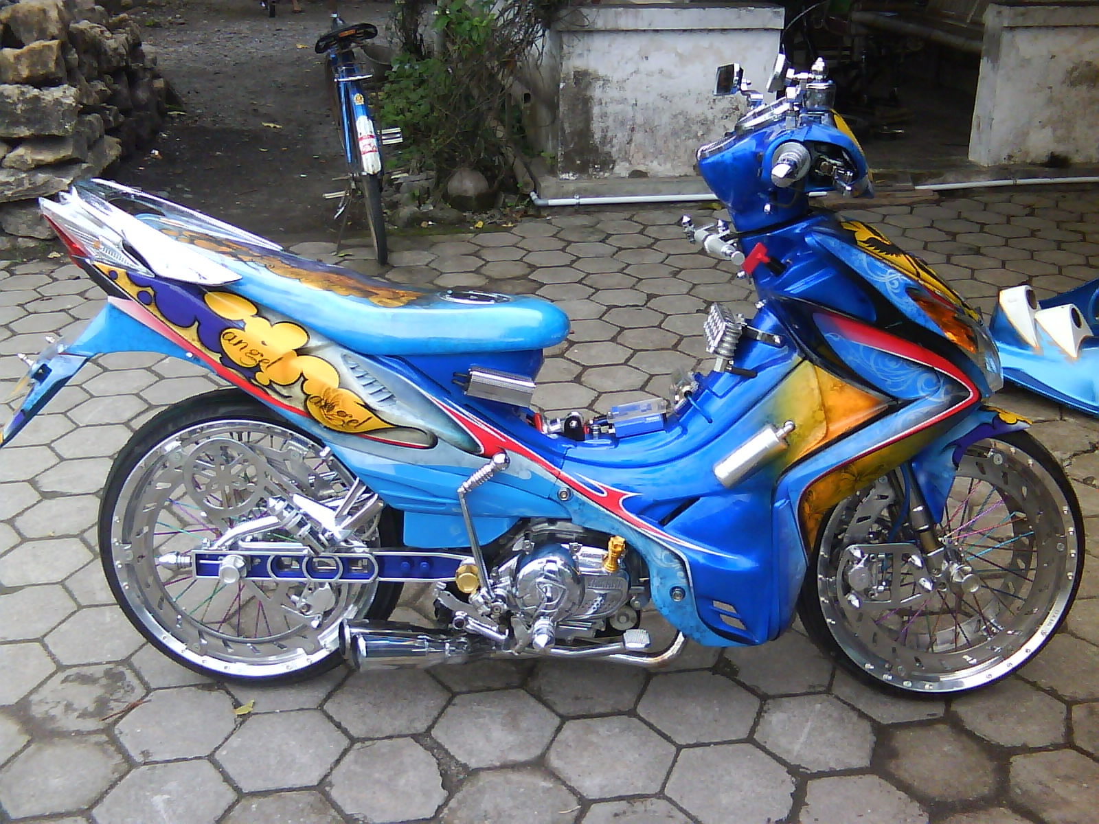 Foto Modifikasi Motor Yamaha Jupiter Mx 2014 Simple