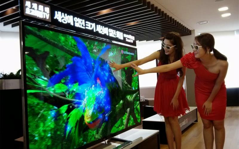 Η διαφορά ανάμεσα σε μια τηλεόραση 4k και μια Full HD! (Ιnfographic)