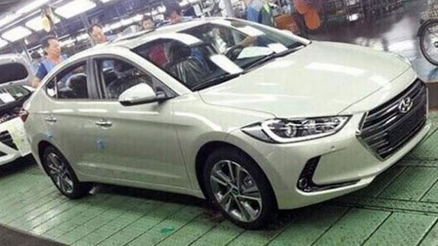 Hình ảnh xe Hyundai Elnatra 2016 phiên bản mới bị chụp lén tại nhà máy hyundai elantra 2016 Hyundai Elantra phiên bản nâng cấp 2016 new sắp về Việt Nam xe hyundai elantra 2016 2B 25284 2529
