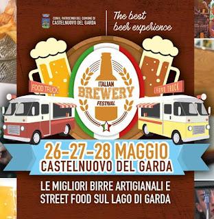 Italian Brewery Festival 26-27-28 maggio Castelnuovo del Garda (Vr)