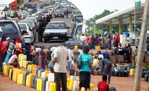 oil marketer hoarding fuel nigeria scarcity