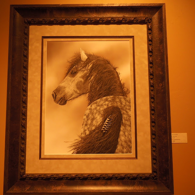 Heritage Gallery West - Judy Larson's Scratchboard Art