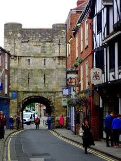 Monk Bar Gate York England Great Britain