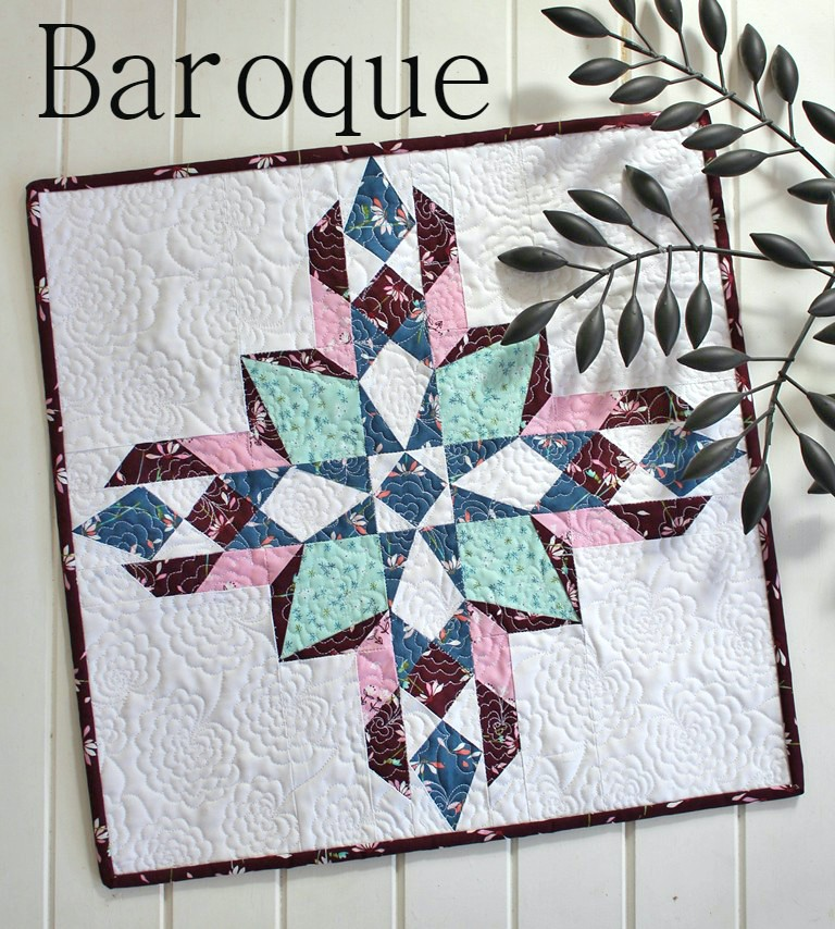 Monthly Calendar Quilt Patterns : Baroque mini quilt your free october calendar