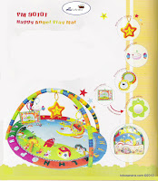 Junior L'abeille PM90101 Happy Angel PlayMat
