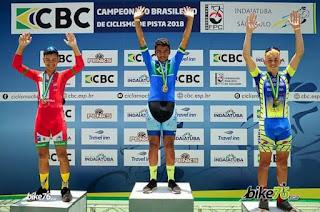 Julio Ciclista de Registro-SP foi destaque no Campeonato Brasileiro de Ciclismo de Pista 2018