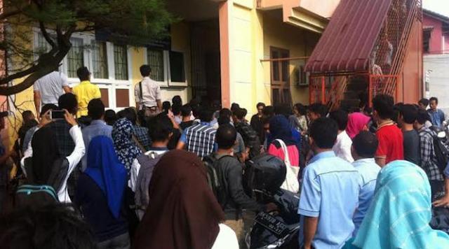 Mahasiswa UMSU Bunuh Dosen
