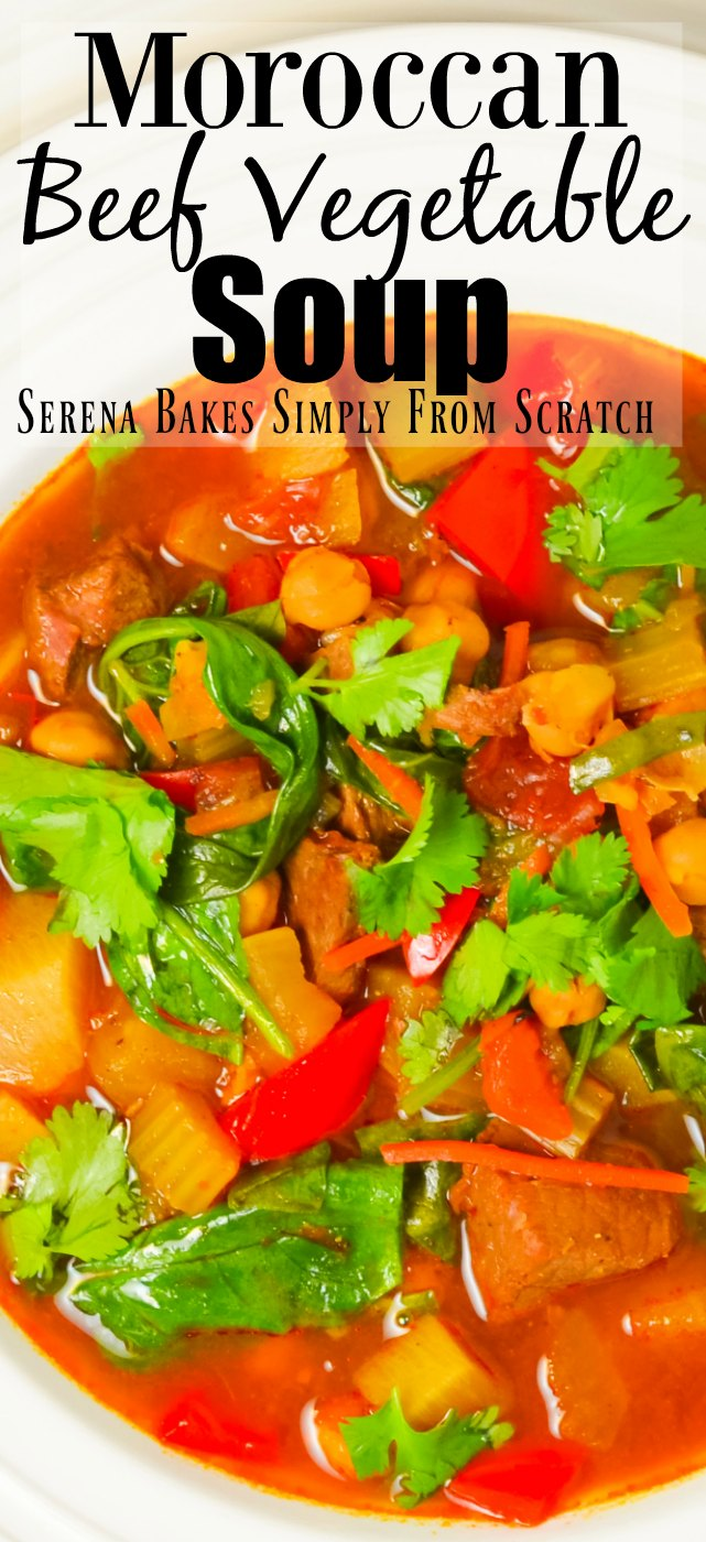 Moroccan Beef Vegetable Soup Recipe