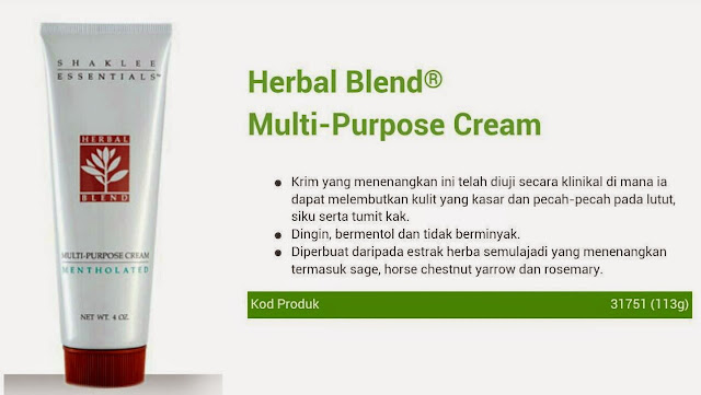 Testimoni herbal blend atasi ruam lampin