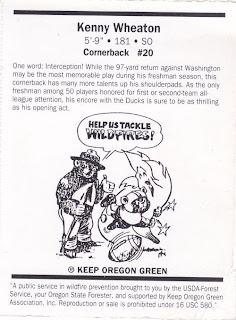 Cards on Cards: Good Luck Ducks, Week 6: Wherein Kenny