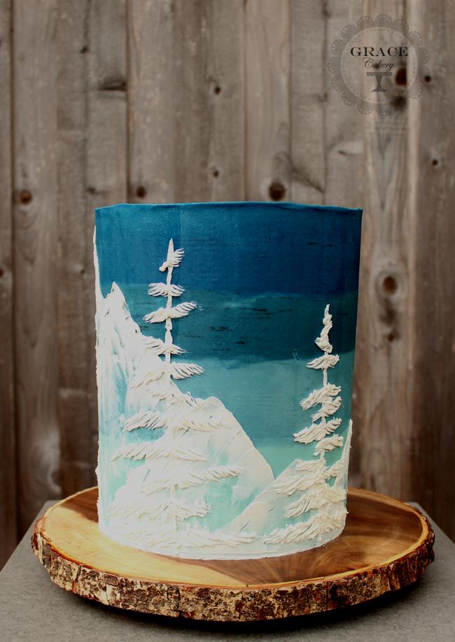 Swg Snow Cake