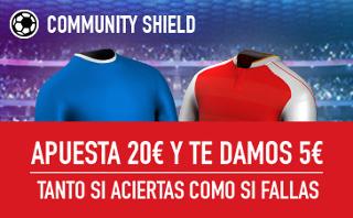 sportium promocion Community Shield Arsenal vs Chelsea 6 agosto