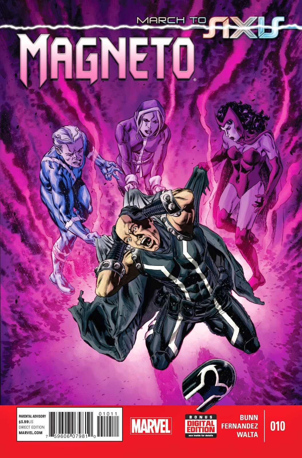 Review of Marvel's Magneto #10 by Cullen Bunn, Javier Fernandez and Gabriel Walta