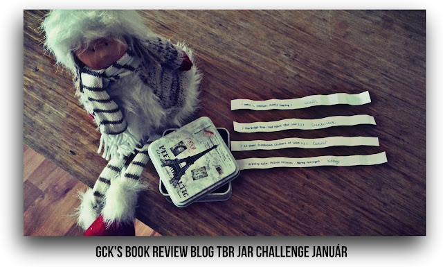 GCK's Book Review Blog TBR Jar Challenge - Január
