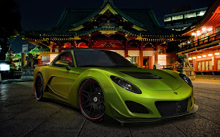Cool Lotus modified high resolution wallpaper