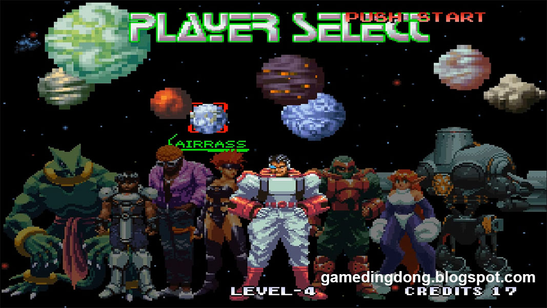 Galaxy Fight - Game Dingdong