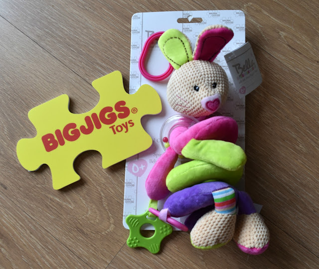 BigJigs Bella Spiral Cot Rattle Review.